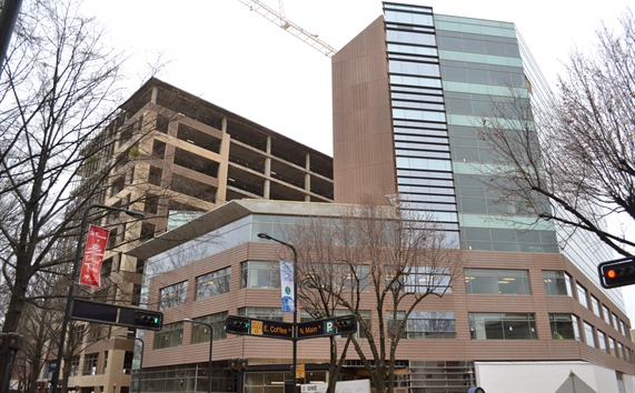 Smith Moore Leatherwood plans to move into the Project One development in downtown Greenville. (Photo/Liz Segrist)