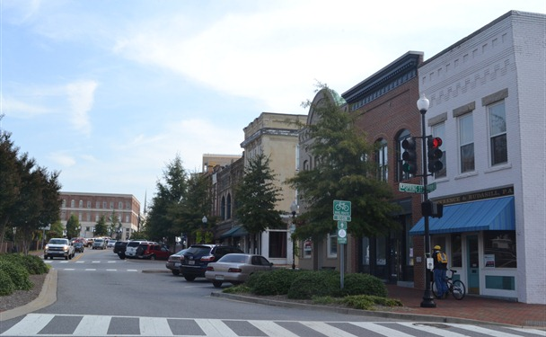 The city of Spartanburg launched a competition to recruit businesses downtown. (Photo/Liz Segrist)