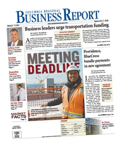 Read more exclusive in-depth business news in the biweekly print edition of the Columbia Regional Business Report. Subscribe online.Read more exclusive in-depth business news in the biweekly print edition of the Columbia Regional Business Report. Subscribe online.