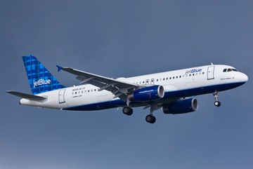 JetBlue Airways begins its flight service out of Charleston Feb. 28. (Christopher Parypa / Shutterstock.com)