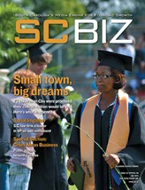 SCBIZ magazine was named the best magazine in the state by the S.C. Press Association.