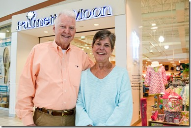 Palmetto Moon's founders, Robert and Karen Webster. (Photo/Leslie Burden)