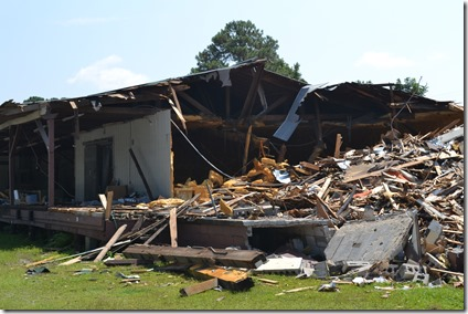 The produce shed in West Ashley will likely be completely demolished soon. (Photo/Liz Segrist)