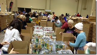 More than 1,000 individuals, area businesses, nonprofits, schools and organizations participated in the largest community Thanksgiving charity effort in the Lowcountry. (Photo provided)