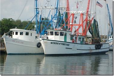 Shrimp boats on Shem Creek add to the charm of Mount Pleasant. (Photo/Andy Owens)