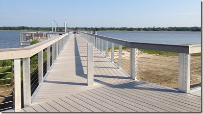 Northbridge Park includes a pier and a dock with a canoe and kayak launch area. (Photo/Ashley Barker)