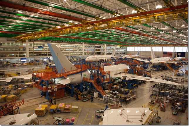 About 3,100 production and maintenance workers at Boeing South Carolina were eligible to vote in the union election Wednesday. The IAM withdrew its petition for the election today. (Photo/Kim McManus)